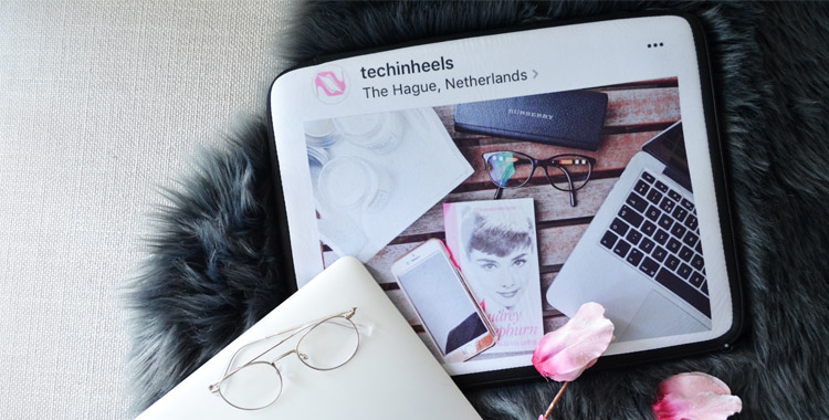 TechInHeels laptop